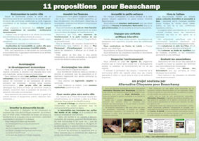 11 propositions verso